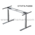United States Adjustable Table Sit Stand Workstation Cranked Adjustable Height