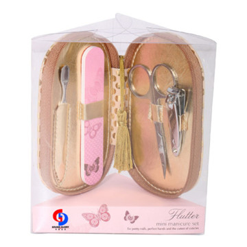 Alta qualidade Nail Care Tool Shiner Travel Manicure Set