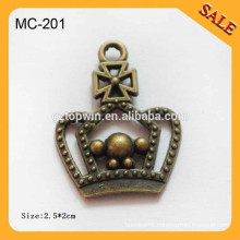MC201 metal charms metal shoelace charm/shoelace charm for shoe decoration