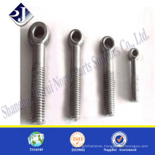 Main product screw hook bolt Zinc finished eye bolt screw hook bolt