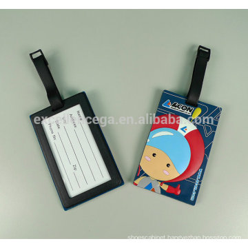 High quality silicon rubber luggage tag