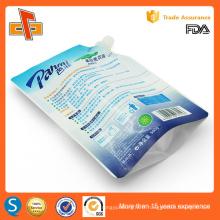Etui de détergent à lessive liquide résistant à l'impression personnalisé réutilisable 400ml