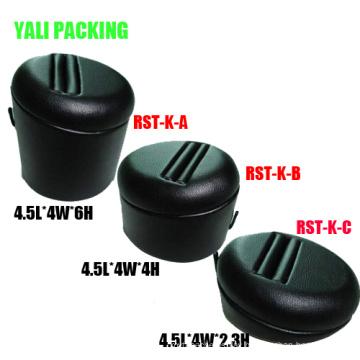 MDF Black PU Jewelry Ring Display (ES-K-A-B-C)