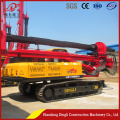 Tracked pile driving rig for construction machinery