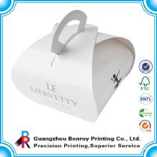 Печатание бумаги искусства изготовленная на заказ хлебобулочными бумажная коробка для обуви
