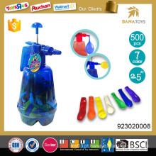 2.5 polegadas balão de água mágica com bomba