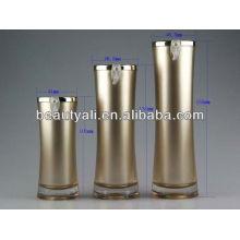 plastic acrylic cosmetic bottle