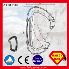 2017 Best Selling Taiwan Bent Gate Carabiner With CE&UIAA Certificate
