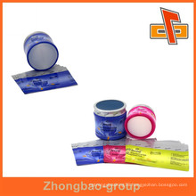 Superior quality PVC drinks label , plastic shrink film labels up to 12 colors printing