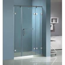 Распашные Закаленное Стекло Душевые Двери Безрамные НД-432