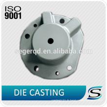 Couverture d'extrémité d'axe de moulage mécanique sous pression en aluminium