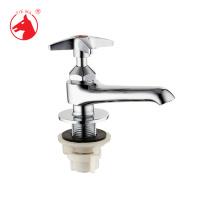 Hochwertige Messing Körper Becken Säule Wasserhahn (zs0703)