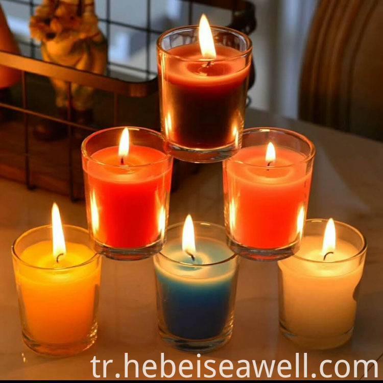 Transparentglass Cup Scented Candle 270