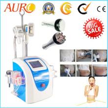Cavitation Laser Liposucción Cryolipolysis que adelgaza la máquina