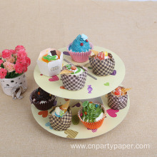 Cardboard Cupcake Display Stand For Party