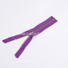 Reliable for Zipper For Bag Brass No. 5 Purple Zipper for Bags export to Russian Federation Exporter