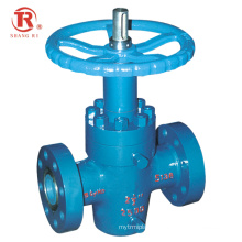 China Factory Hot Sale High Pressure Special Flat Gate Valve for oil field