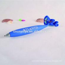 Cartoon weich pvc flach Kugelschreiber