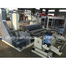 Máquina de corte e rebobinamento de rolo a rolo