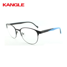 2018 Round Spectacle Frame with Metal Material Eye Glasses Frame Eyewear Eyeglasses In Stock Spetacle Frame