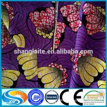 100 % Wax print fabric