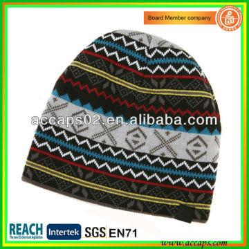 Bonnet en tricot d'hiver pour adulte BN-2640