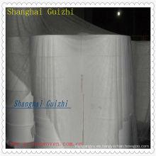 Materia prima principal del tejido mojado negocio, Lapeado paralelo Tejido no tejido Spunlace 60% VIS y 40% PET, USD2940 / ton