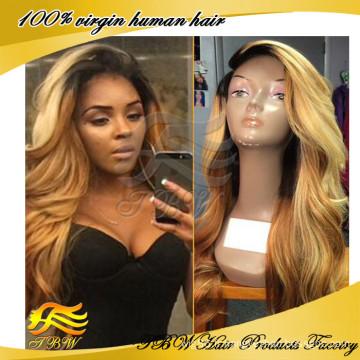 Aliexpress vente chaude Remy cheveux perruque indienne femmes perruque de cheveux