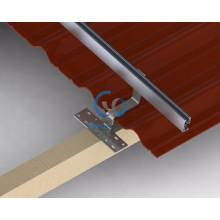 Slope Roof Solar Energy System Using Tile Hooks