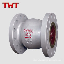 Stainless steel SS304 / 316 silent spring loaded check valve