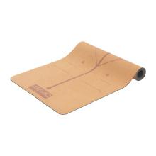 Yugland eco friendly cork yoga mat  sports custom logo printing clothing fitness cork yoga mat