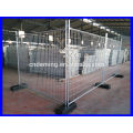 DM high quality portable fence with square tube made in Chinese factory