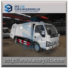 Euro 5 Emission 4X2 Emission 6 M3 Refuse Compactor Truck