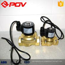 Válvula solenoide micro miniatura de alta presión 12v