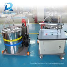 high quality oil engine filling machine with ellipse gear pump for lubricating oils non corrosive liquid