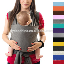 Stretchy and breathable fabric baby sling cost-effective baby wrap