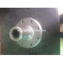 GGG50 ductile iron casting flange shaft