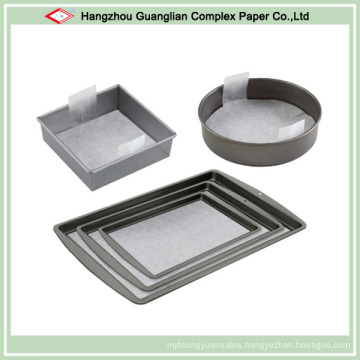 OEM Available Non-Stick Pre-Cut Baking Paper for Lining