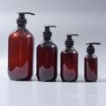 Amber Boston Round Pet Lotion Shampoo Bottle (EF-PL07)