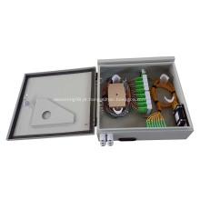 Caixa de terminal de acesso à prova de água FTTH ao ar livre