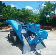เครื่องทำ Mini Mini Crawler Mucking Mini Holder Loader