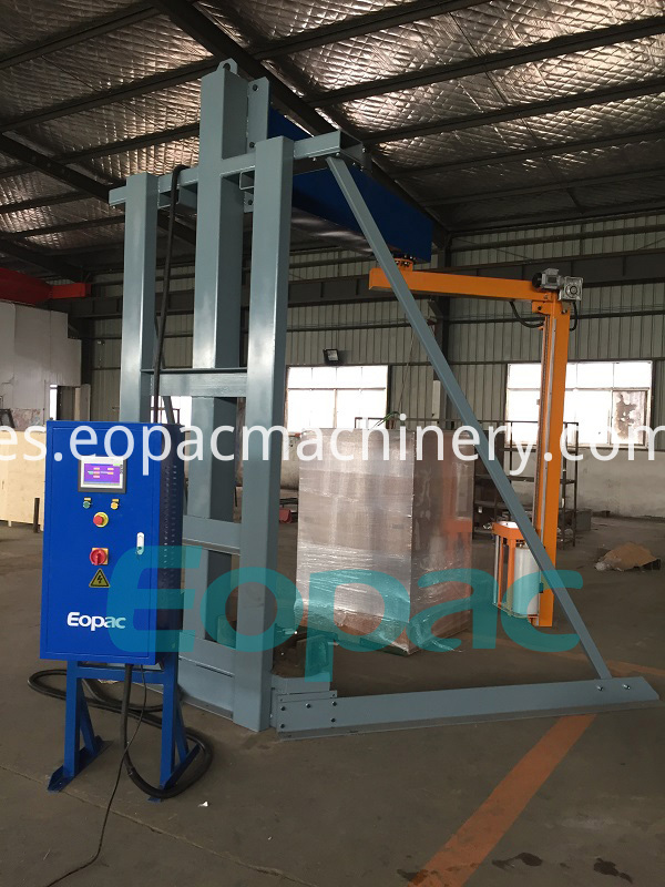 Overhead Pallet Wrapper Pallet Packing Machine