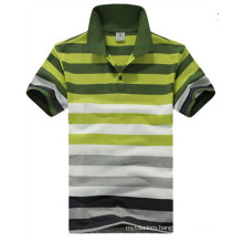 Stripe Polo Shirt, Men′s Polo Shirt