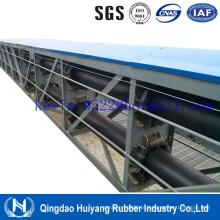 Correia transportadora de tubo de carcaça de tecido