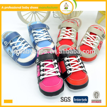 2016 hot sale high quality low price kids shoes red color baby sports shoes