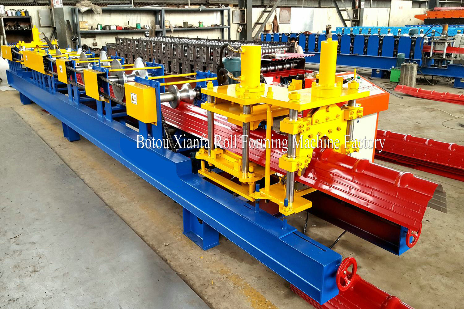 ridge tile machine