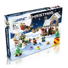 JJRC 1001 Christmas Building Blocks X-MAS Gift 3D Puzzle Kids Educational Bricks DIY Assembling Classic Toy For Children Gifts