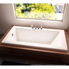 """72 х 42"""" дюйма добавьте капли в акриловая ванна"""