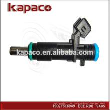 Venta caliente nuevo siemens inyector de combustible PA66GF35 para Wuling