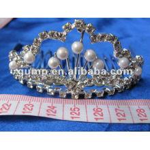Crstal tiara comb (GWST12-112)